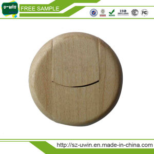Wooden USB Flash Disk with Engrave Logo pictures & photos