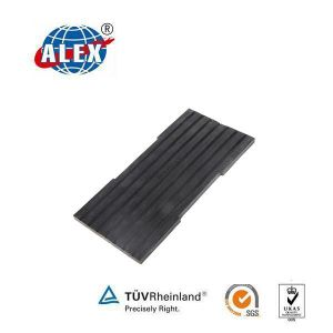 Elastic Rubber Pad for Track Construction