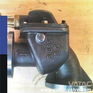 Marine Cast Iron/Ductile Iron/Wcb/Lcb/Wc9 Angle Storm Valve From Wenzhou pictures & photos