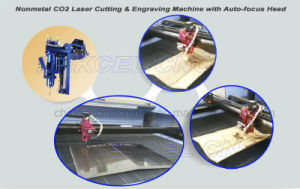 CNC CO2 Nonmetal Auto Focus Laser Cutting Solution Curved Material Cutter Machine pictures & photos