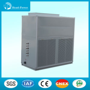 Air Cooled Double Scroll Compressors 10ton Air Cooled Duct Split Packaged Unit Air Conditioner Price pictures & photos