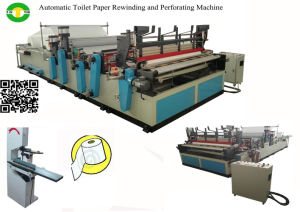 Full Automatic 1575 Toilet Tissue Paper Making Machine Mill pictures & photos