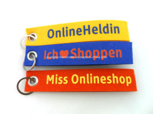 Custom Printed Colorful Felt Key-Hanger pictures & photos