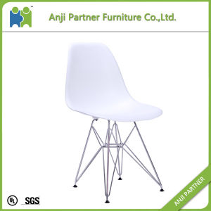 PP Seat with Chromed Steel Base Modern Fashion Design Dining Room Chair (Heather) pictures & photos