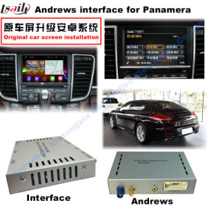 Upgrade Multimedia Android Interface Support WiFi/Bt/Mirrorlink GPS Navigator for 10-15 Porsche-Panamera pictures & photos