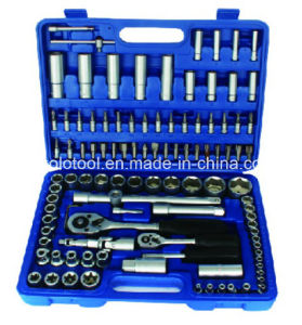 "94PCS 1/4""Dr. and 1/2""Dr. Socket Wrench Set pictures & photos"