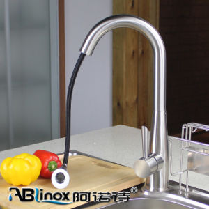 SUS 304 Retractable Kitchen Faucet (AB135) pictures & photos