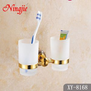 Luxury Style Bathroom Accessories Double Cup (8168) pictures & photos