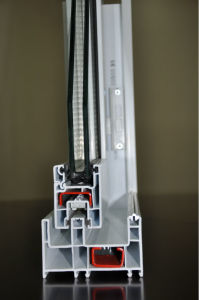 Conch UPVC Profile for 88 Sliding Window pictures & photos