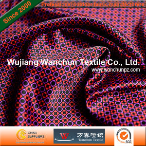 Printed Polyester Satin Fabric for Garment pictures & photos