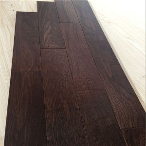 Elegant Living Walnut Color Oak Enigneered Wood Flooring