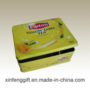 Lipton Red Tea Tin Box pictures & photos