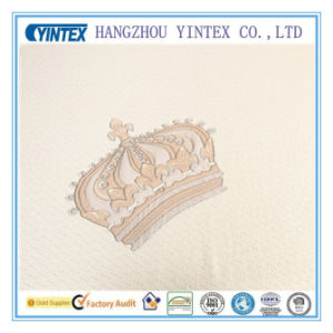 Fashion Design Crown Polyester Fabric pictures & photos