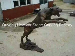 Art Figurine Bronze Animal Sculpture for Decoration pictures & photos