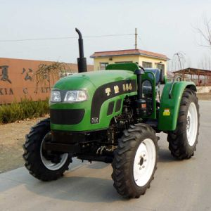 Multi-Purpose 60HP 4WD Farm Tractor with Front Loader pictures & photos