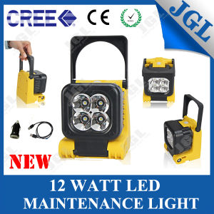 24V LED Machine Work Light 12W Rechargeble LED Work Light