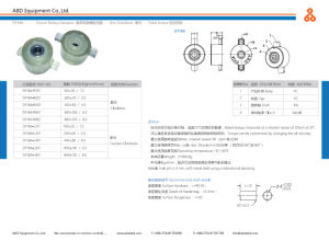 Easy to Install Large Torque Rotary Damper Design pictures & photos