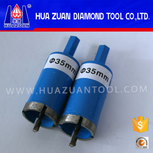 35mm Sintered Diamond Drill Bit for Stone Slab Drill Hole pictures & photos