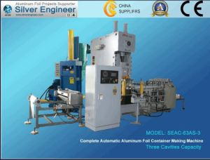 Aluminium Foil Container Making Machine (SEAC-63A-3) pictures & photos