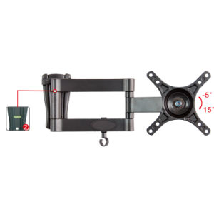10inch to 24inch Articulating TV Bracket Mount (WLB141) pictures & photos