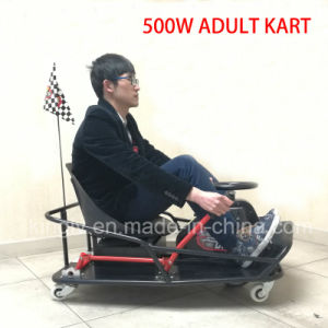 500W Mini Adult Pedal Electric Drift Go Kart (CK-02) pictures & photos