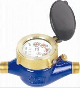 "Multi Jet Brass Water Meter, Dry Type (1/2"" to 2"") pictures & photos"