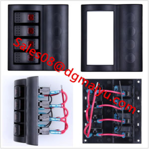 Marine 4 Way Rocker Switch Panel with LED and Waterproof ABS Panel Modified Car Switch pictures & photos