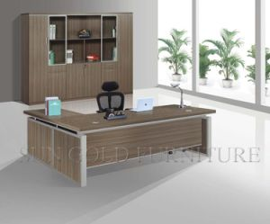 L-Shape Rectangular Office Furniture Modern Table Executive Desk (SZ-OD422) pictures & photos