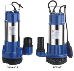 Stainless Steel Cast Iron Dirty Water Submersible Pump (VC750) pictures & photos