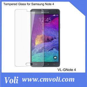 Cell Phone Screen Protector Tempered Glass for Samsung Note4 pictures & photos