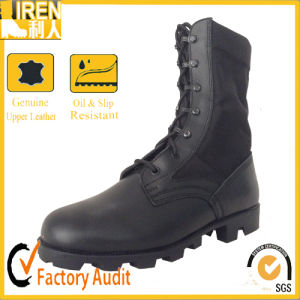 China Top Quality Genuine Cow Leather Comfortable Military Boot Military Jungle Boot pictures & photos