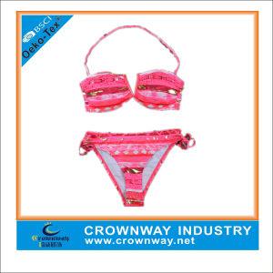 Latest Fashion Ladies Sexy Bikini Set / Triangle Swimwear Bikini pictures & photos