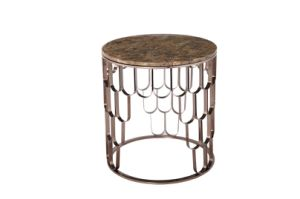 Modern Ss Coffee Tea Side End Table with Marble Top pictures & photos