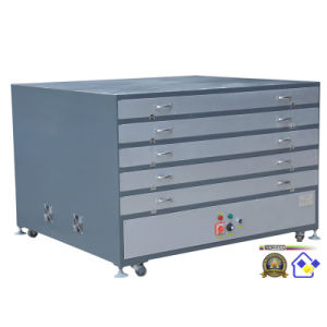Tdp-70100 Electric Heating System Drying Cabinet for Screen Printing Frame pictures & photos