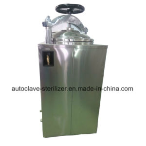 Hand Round Vertical Pressure Steam Sterilizer High Pressure Autoclave for Hospital Use pictures & photos