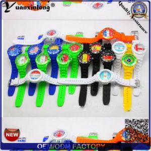 Yxl-822 Promotion Gift Watch Silicone Strap Japan Movement Quartz Watch Sr626sw pictures & photos