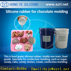 Supplier of Food Grade Silicone Rubber for Chocolate Mold pictures & photos