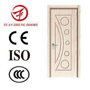 PVC Wooden Door Inteiror Room Door Gj-06 pictures & photos