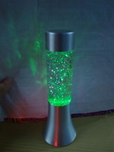 Glitter Powder Made a Wax Lamp Applied to Christmas Decorations pictures & photos
