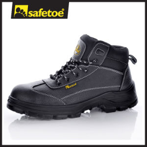 PU/PU Dual Density Safety Shoes with Steel Toe for Men M-8305