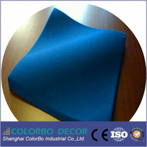 Excellent Sound Absorption Polyester Fiber Acoustic Plate pictures & photos