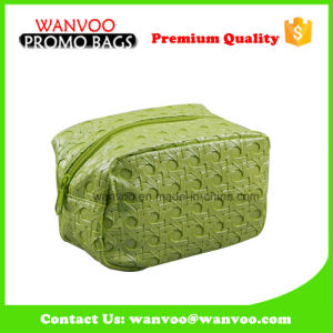 Eco Friendly Soft PVC Grass Straw Cosmetic Bag with Zipper pictures & photos