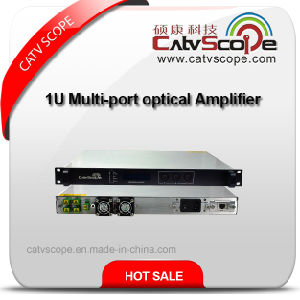 1/4/8 Ports EDFA 1550nm CATV Erbium-Doped Fiber Optical Amplifier /Multi-Port EDFA