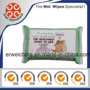 70PCS 100% Bio-Degradable & Hypoallergenic Baby Wipes pictures & photos