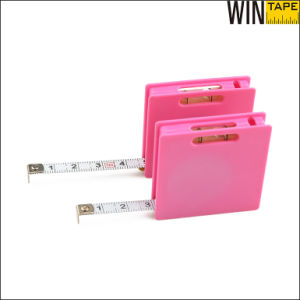 1 Meter Pink Square ABS Mini Steel Multi Measure Tape (MST-040) pictures & photos