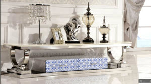 Modern European Cheap Price Marble TV Stand pictures & photos