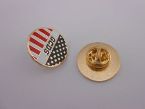 Custom Lapel Pins, Customized Badge with Logo (GZHY-KA-029) pictures & photos