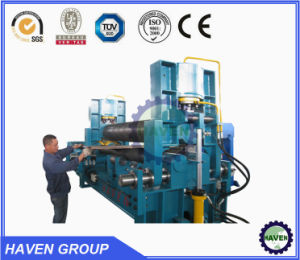 W11S-50X4000 Universal Top Roller Steel Plate Bending and Rolling Machine pictures & photos
