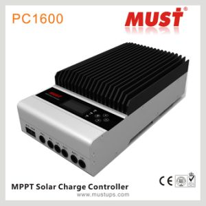 Compatible Air Cooling 45A/60A DSP MPPT Solar Charge Controller pictures & photos