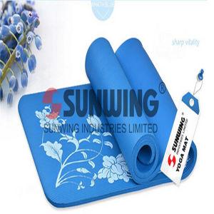 PVC Foam Eco-Friendly Sports Anti Slip PVC Yoga Mat pictures & photos